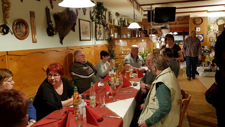 Der Ortsfischereiverein Hildburghausen e.V. feiert den Jahresabschluss