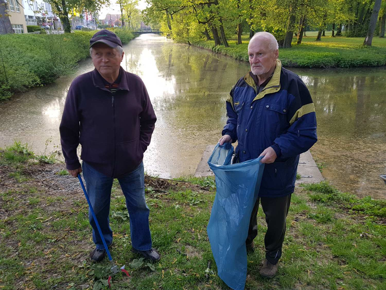"""""""Frühjahrsputz"""" am Kanal und Werra"""