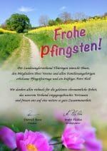 Pfingstgrüße vom Landesanglerverband Thüringen e.V.