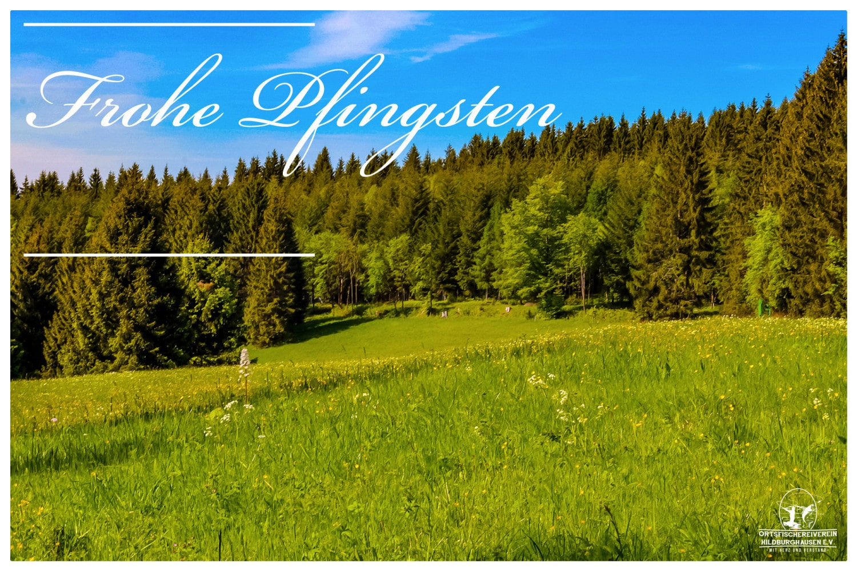 """Pfingstgrüße 2019"" vom Ortsfischereiverein Hildburghausen e.V."