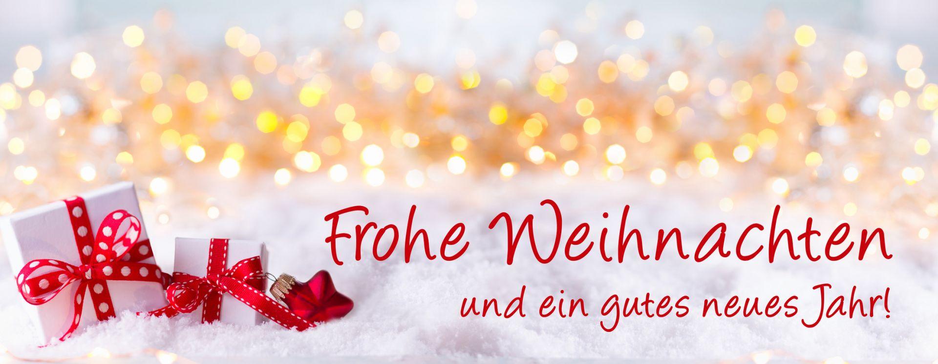 Weihnachts-und Neujahrsgrüße