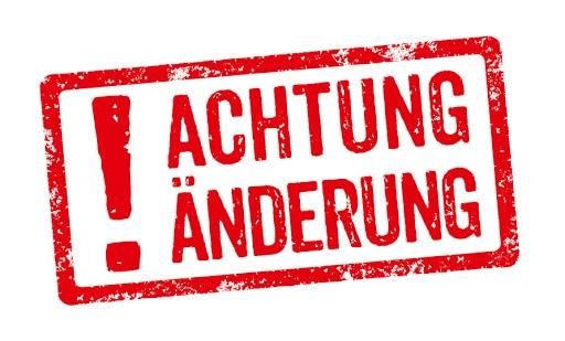 Wichtige Informationen/Änderungen zur Beitragskassierung am 23.01.2021 und 30.01.2021